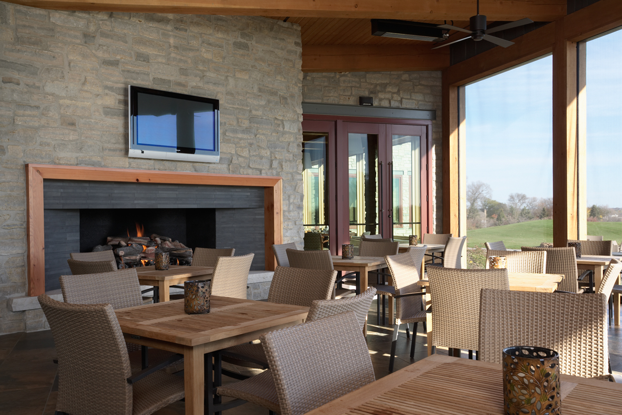 Outdoor Dining Porch