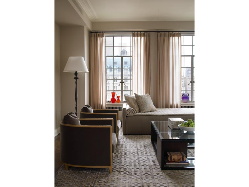 Merveilleux New York Apartment Living Room