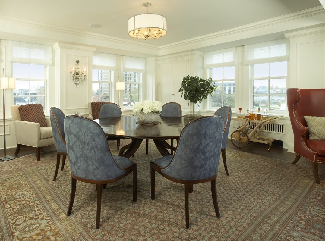 Minneapolis Condo Dining Room