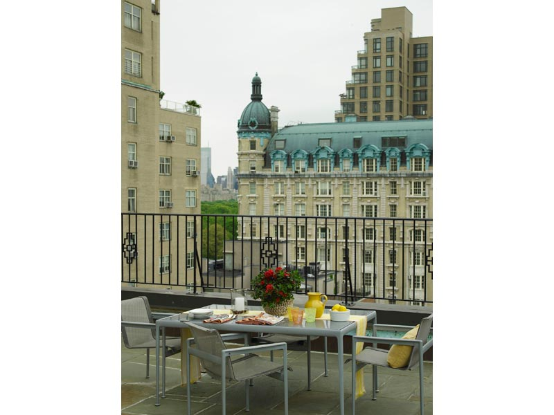 New York Apartment Terrace