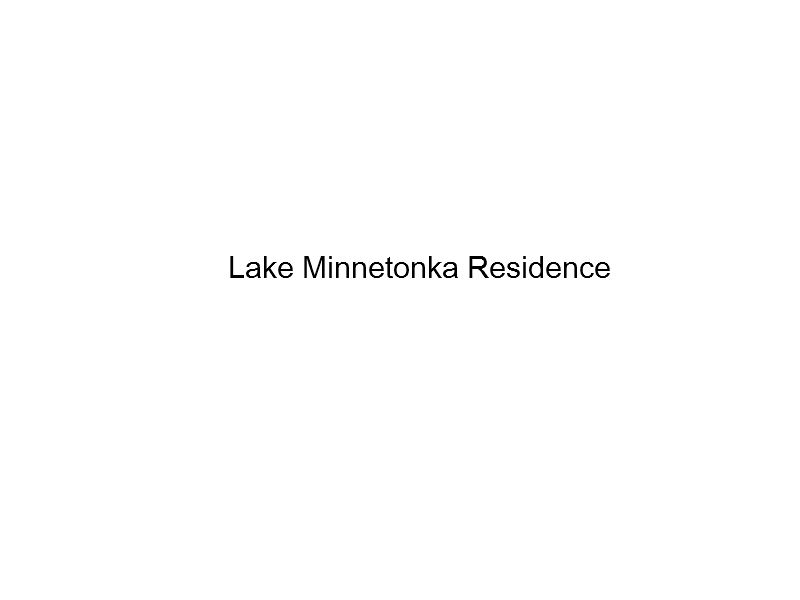 Lake Residence