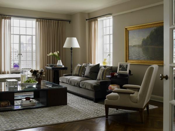 Residential gunkelmans interior design minneapolis for New york living room ideas