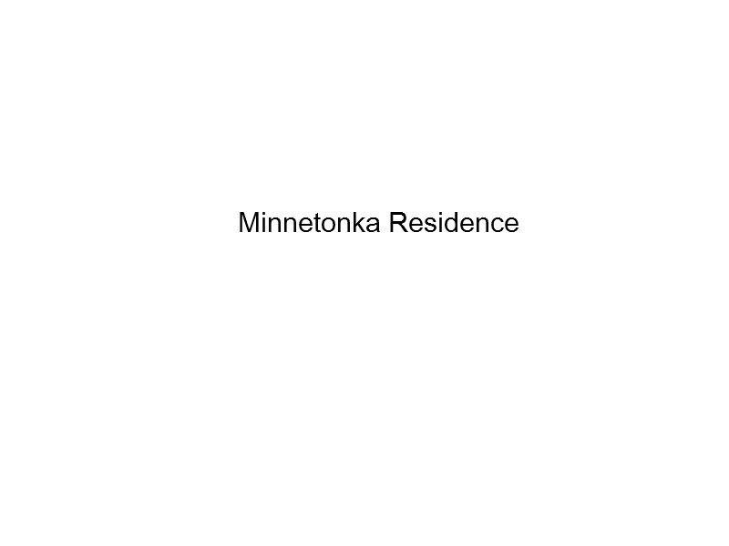 Minnetonka Residence