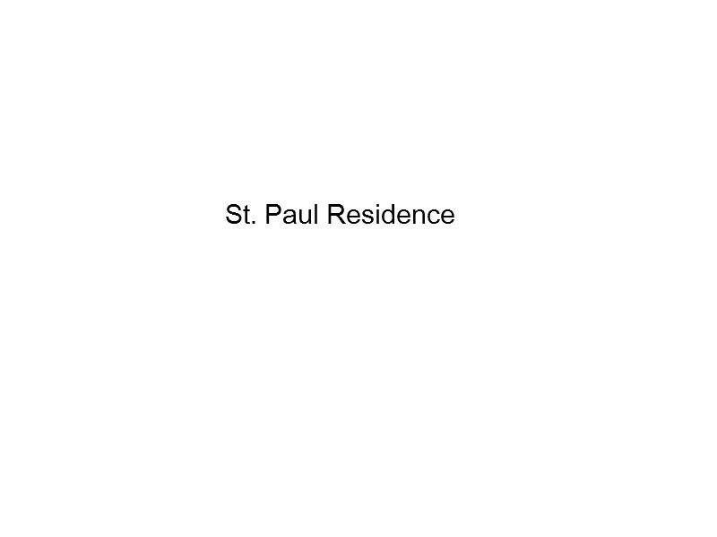 St. Paul Residence